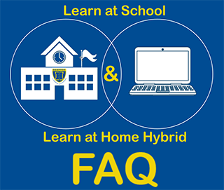 Learn at School and Learn at Home Hybrid FAQ link icon