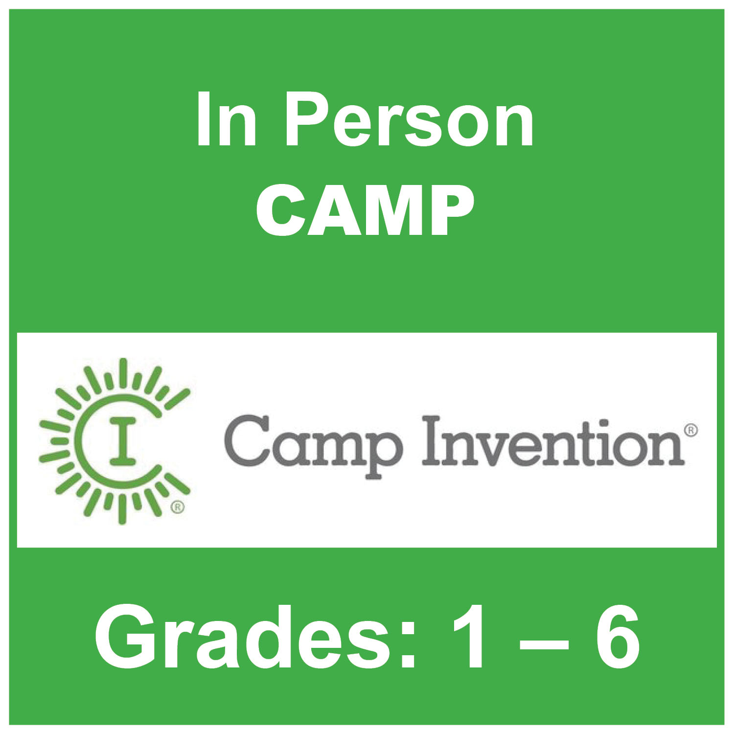 Camp Invention 2021 Information Link