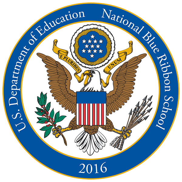 U.S. Department of Education National Blue Ribbon School seal