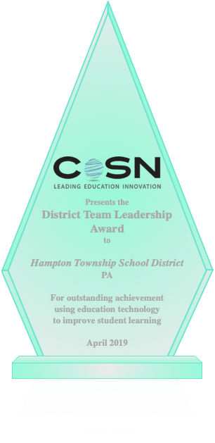 2019 CoSN District Team Leadership Award