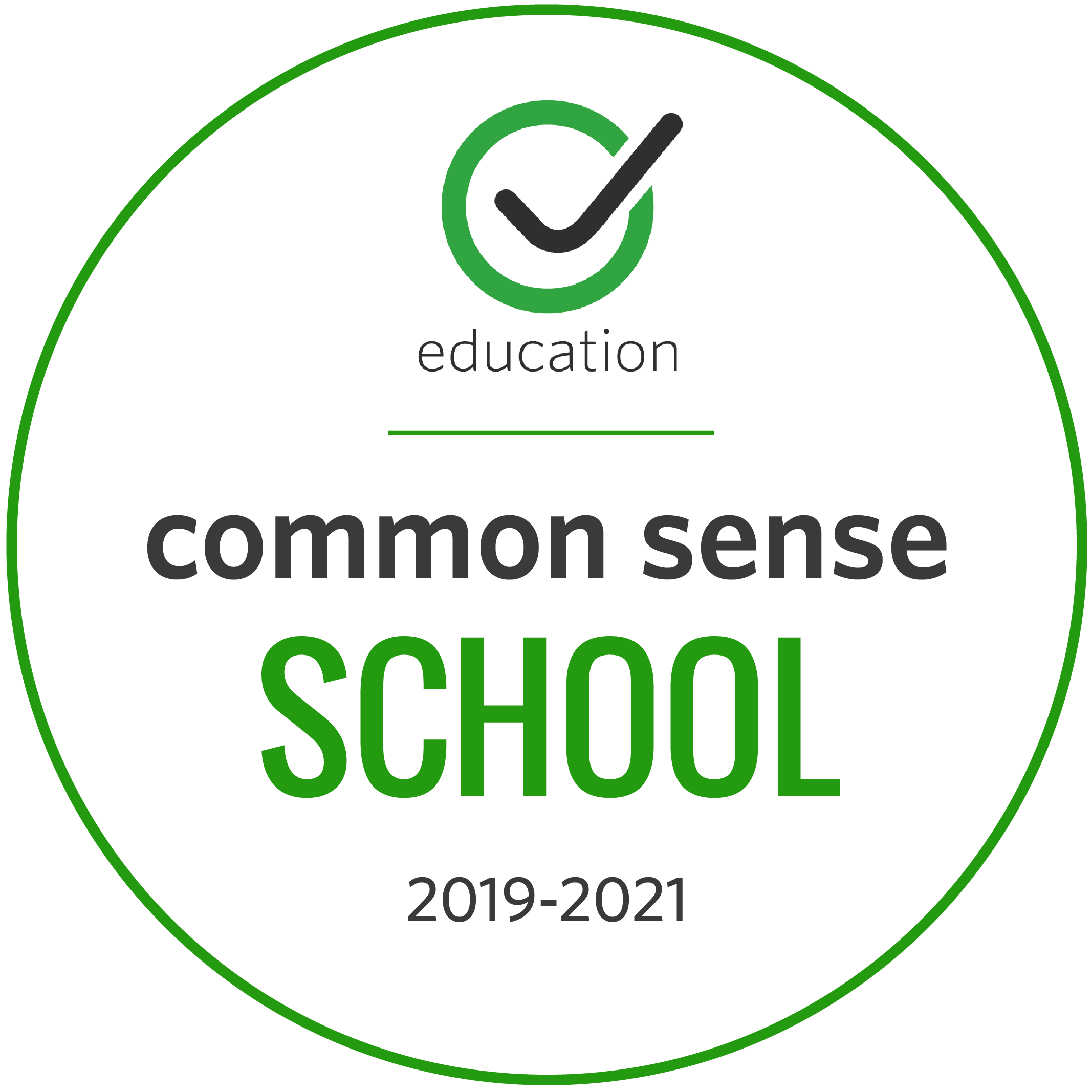 Common Sense Media Certified School icon